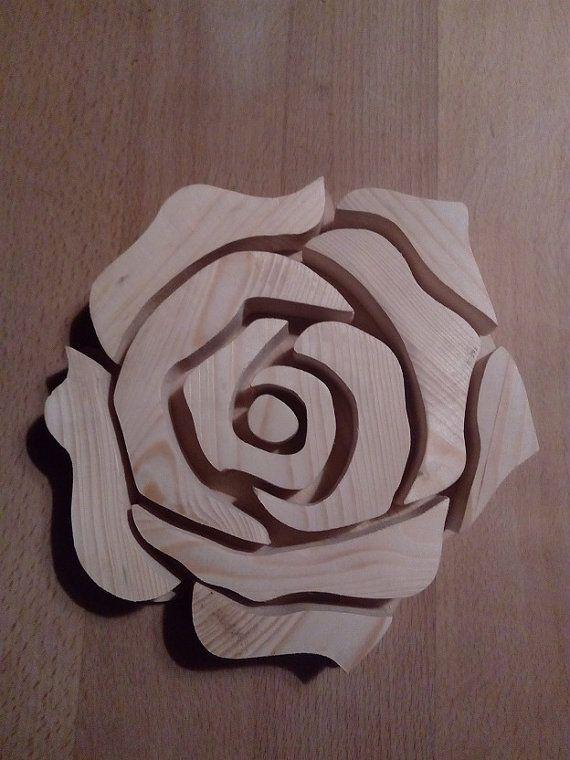 Trivet / Pot Holder - Rose