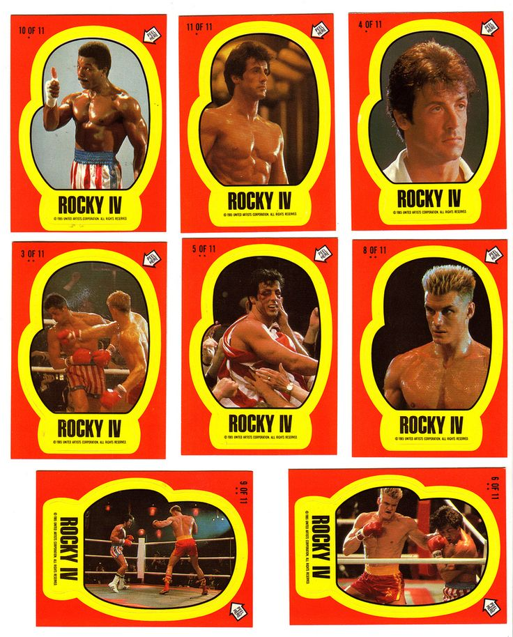 rocky trading cards Star wars black series, Stickers