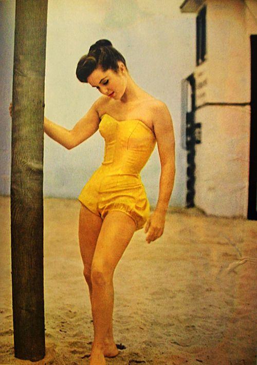 1950s Beach play suit