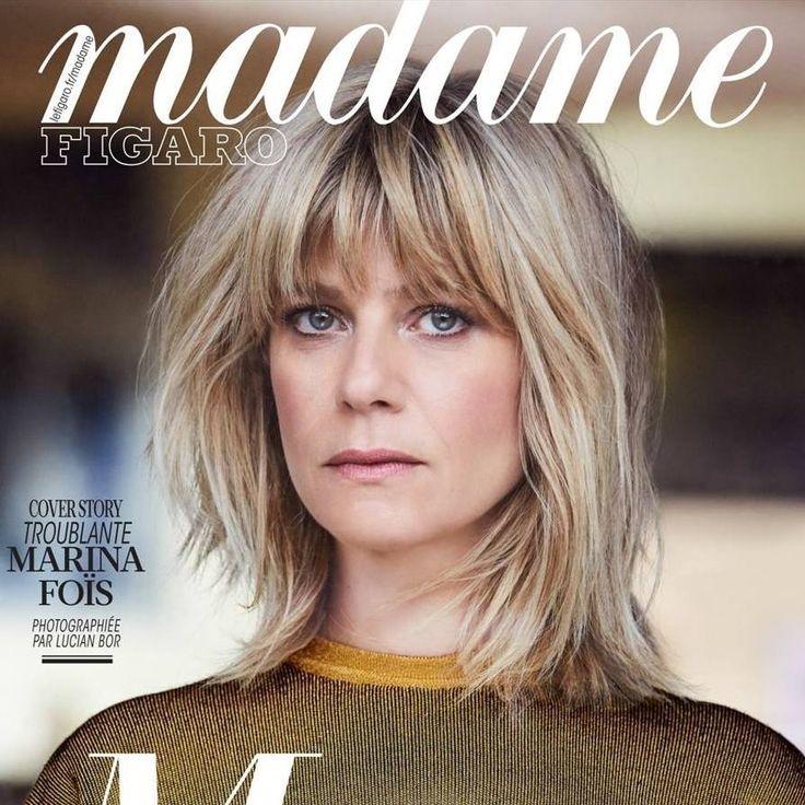 Marina Foïs for Madame Figaro France April 14, 2017