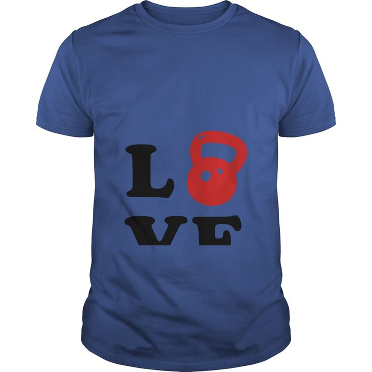 Love Kettlebell- weight lifting  #fitness #gym #bodybuilding #workout #fitfam #lifting #tshirt #tee