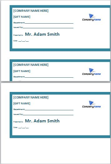 Employee Gift Certificate Template At Dotxls.org. Gift Certificate Template WordGift  CertificatesCustom ...  How To Create A Gift Certificate In Word