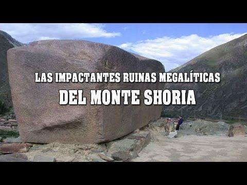 Increibles bloques de piedra de mas de 4 mil toneladas, en las ruinas del monte Shoria LOGOS: Tecnologias avanzadas Extraterrestres // En Ruinas...
