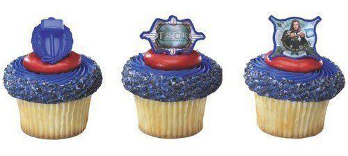"""12 Pk Cupcake Topper Rings, Marvel'S """"Thor"""", Birthdays, Grab Bags, Vending Toys"""