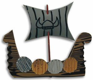 Hands On Crafts for Kids - Viking Longboat