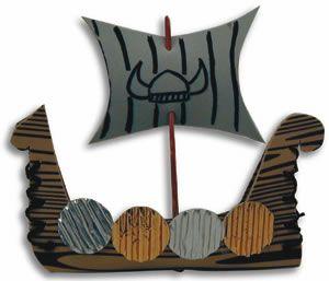 Hands On Crafts for Kids - Viking Longboat