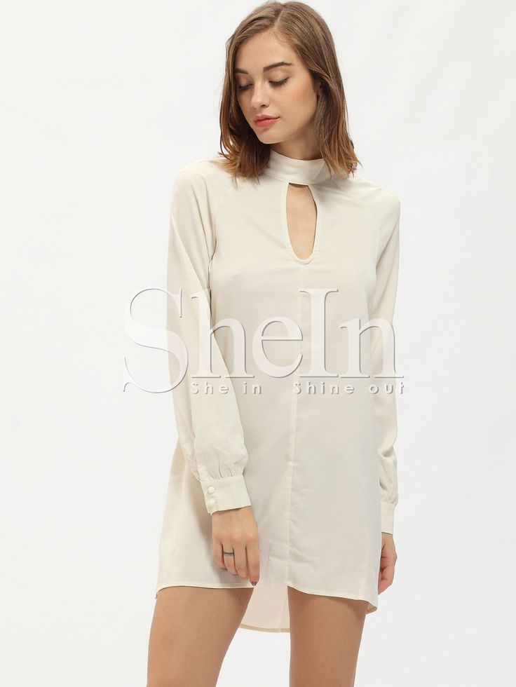 http://fr.shein.com/White-Keyhole-Front-Cut-Out-Back-Dress-p-256403-cat-1727.html