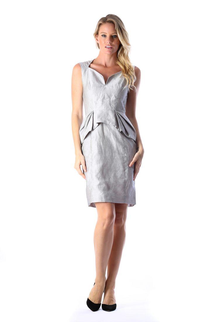 PEPLUM DRESS  http://runwaydream.com.au/peplum-dress-346?options=cart Retail: $485 Hire:  $89