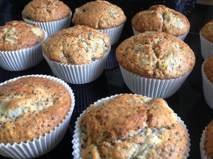 mohn birnen muffins | Mmmmuffins | Pinterest | Muffins
