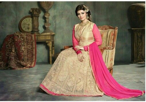 Gold & Pink gown semi stitched R1599 excl courier/postage