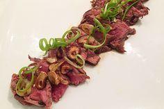 Insulin Resistance Diet Recipe: Beef Tataki with Ponzu Sauce