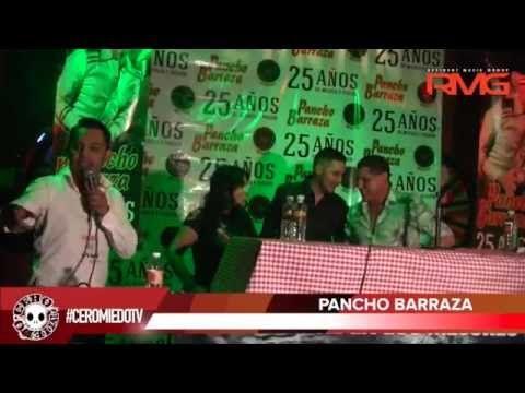 PANCHO BARRAZA con CEROMIEDOTV 3 de Sep 2015