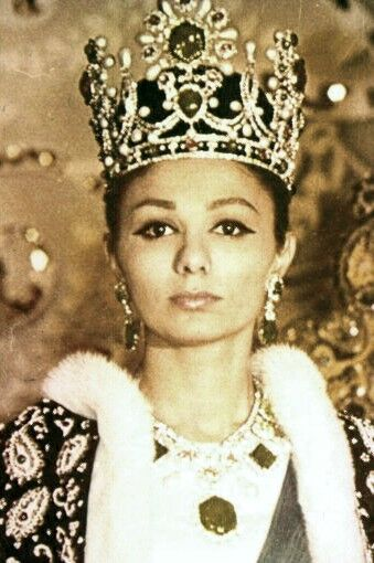 (Former) Empress of Iran,FARAH DIBA