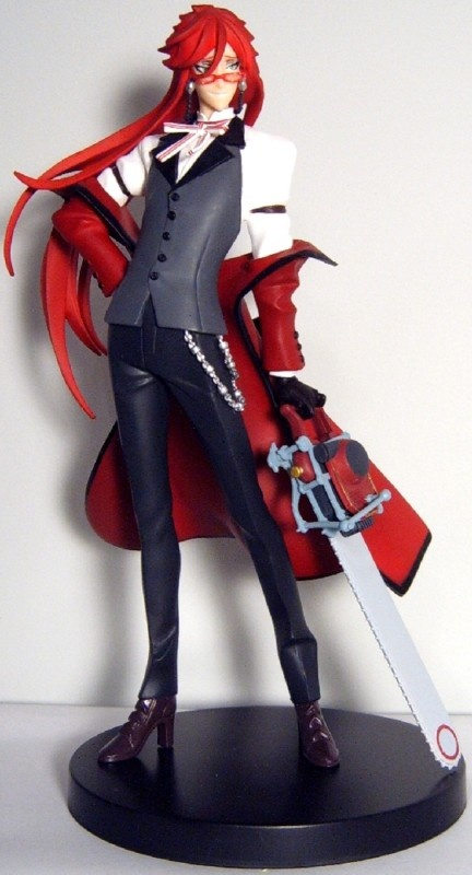 Black Butler ~~ Hand on hip, chainsaw at the ready! :: Grell