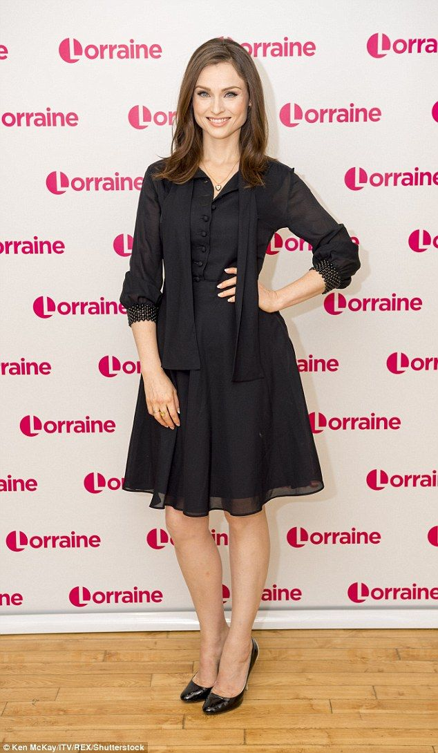 All about family: Sophie said she makes it work with husband Richard, who is also busy with his own music and touring