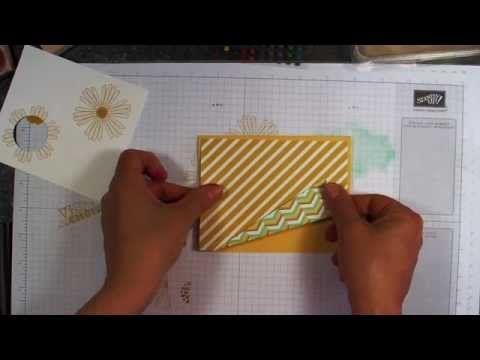 Pliage original: carte à ouverture spéciale -Stampin' Up!- - YouTube