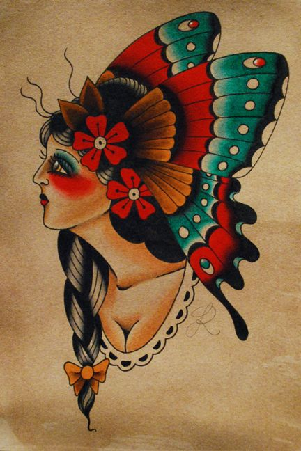American #Traditional #Tattoos and Tattoo Art - Socialphy