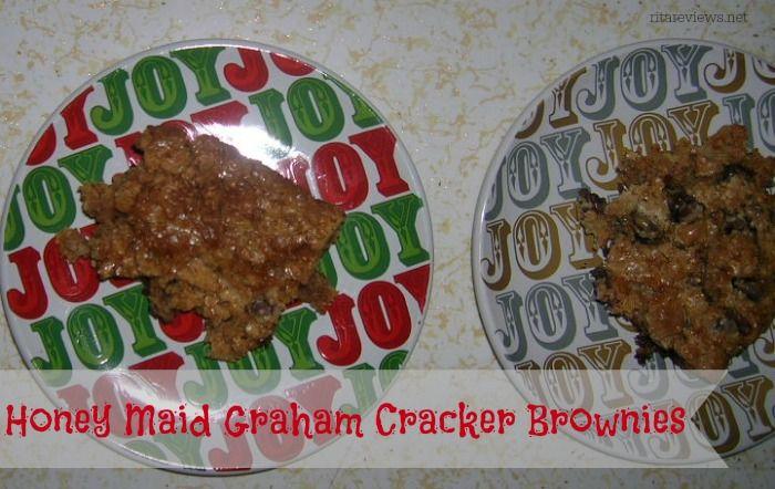 Honey Maid Graham Cracker Brownies  #ThisIsWholesome #honeymaid #spon
