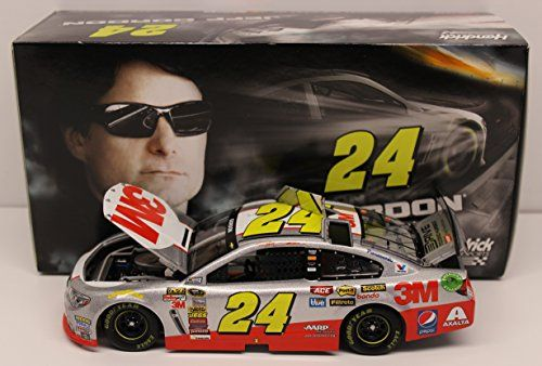 awesome Lionel Racing C2458213MJG Jeff Gordon #24 3M 2015 Chevy SS 1:24 Scale ARC HOTO Official NASCAR Diecast Car
