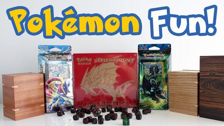 Fun Pokémon Trading Card Game Theme Decks! PLUS Pokémon Deck Boxes! #pokemon #tcg #fun #playtime