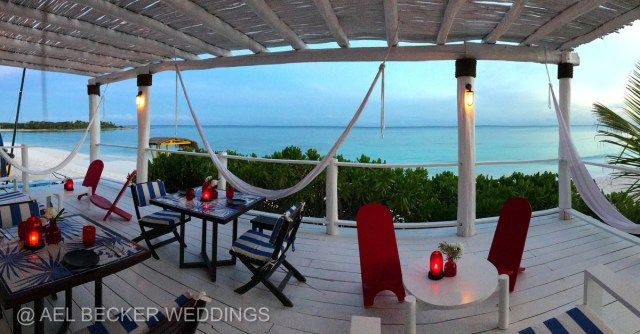 The new Mistura Xpuha Restaurant at by Hotel Esencia, Riviera Maya, Mexico. Ael Becker Weddings