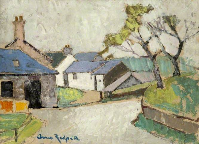 Anne Redpath cottage painting.