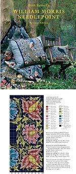 Beth Russell William Morris Needlepoint Chart Book