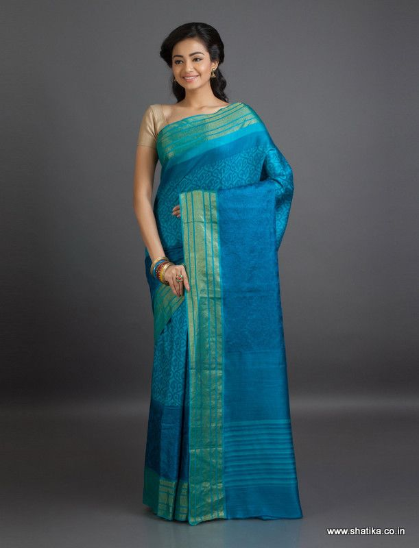 Ramya Cool Blast of Print Mysore #GeorgetteSilkSaree