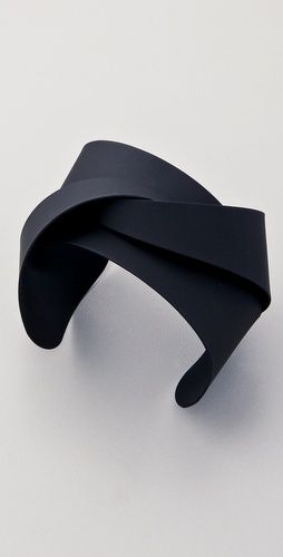 Soo Ihn Kim - Jinx cuff - Twisted metal cuff material appears to be soft yet structured