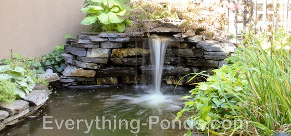 16 best images about pond ideas on pinterest natural waterfalls natural pond and pond waterfall - Corner pond ideas ...