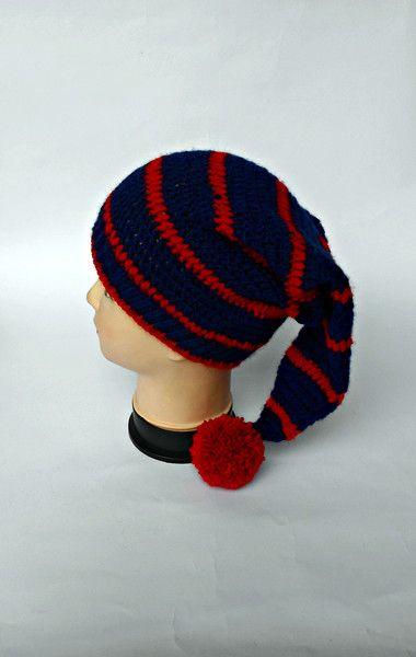 Cappello da Elfo all'uncinetto  di L'Alabastro Creazioni su DaWanda.com