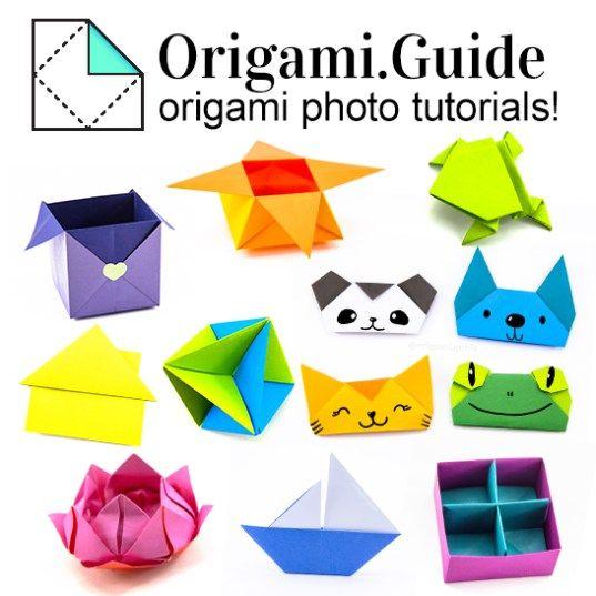 Jacobs Ladder Tutorial - Origami Squares - 2 Methods - Paper Kawaii | 537x537