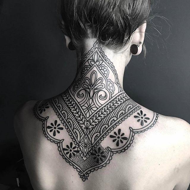 Tattoo done by: @ellementaltattoos  Artist: ellementaltattoos  Tatuaje: mandala  ==== ==== ==== ====  #mandala #mandalas #mandalatattoo #linetattoo #tattooline #tattoolife #tattoo