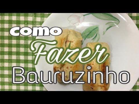 Como fazer Bauruzinho - Receita Rápida