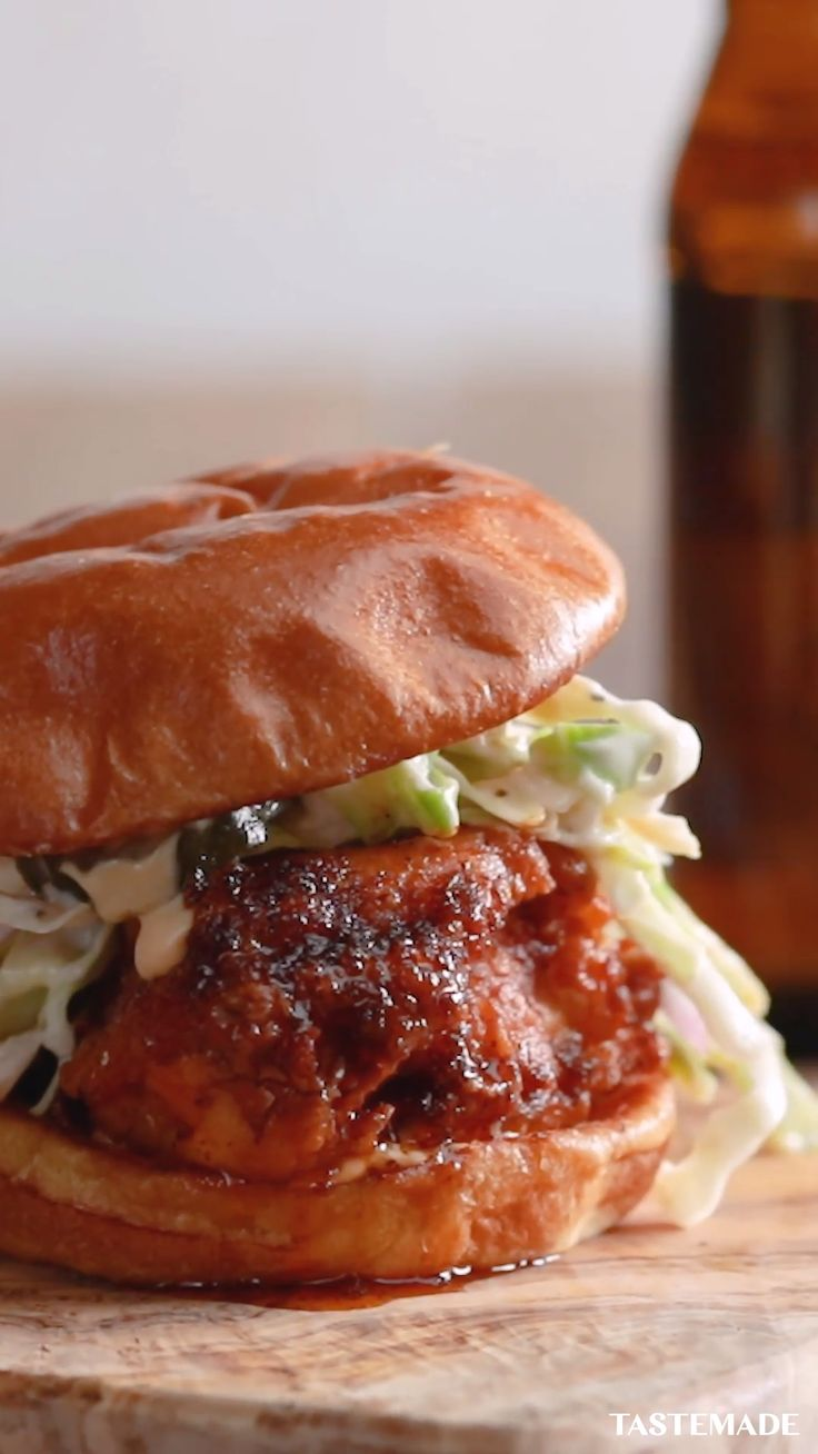 If you love fried chicken, just wait until you take a bite out of this crispy hot chicken sandwich.