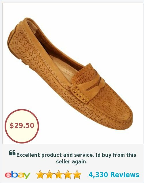 d99f2da2445 POLO RALPH LAUREN Camila Women s Beige Suede Perforated Driving Loafers 7