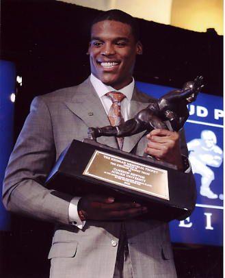 Cam Newton Heisman Trophy Winner