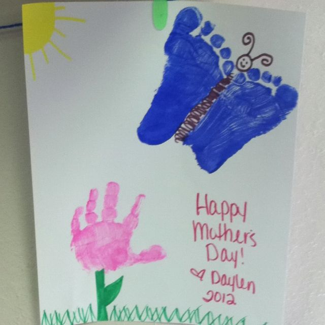 Cute easy mother day craft!