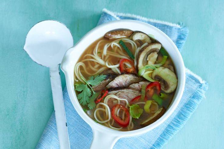 Upgrade je soep met biefstuk! - Recept - Allerhande