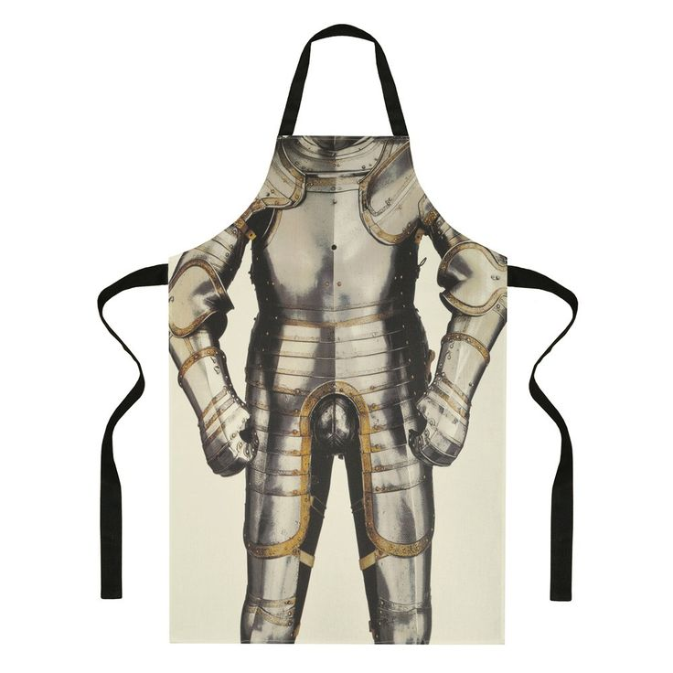 Henry VIII's armour apron - Historic Royal Palaces online gift shop.  Of course I had to buy this.