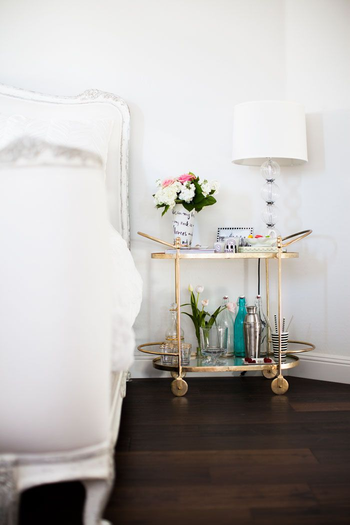 How to Repurpose Your Bar Cart | The Everygirl