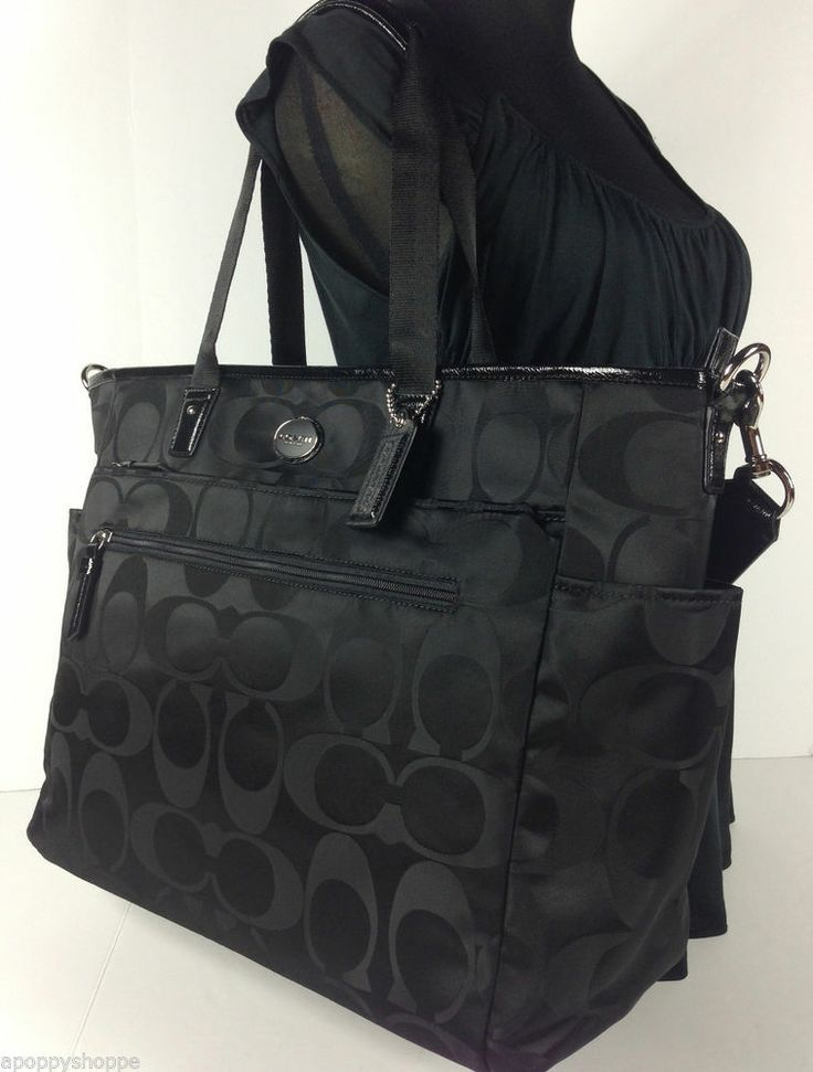 coach diaper bag - Google Search