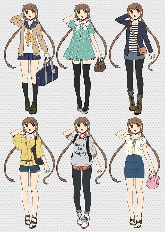 Anime Character Design Challenge : Les meilleures images à propos de dessin sur pinterest