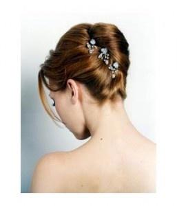Wedding Updos for Medium Length Hair - French Twists