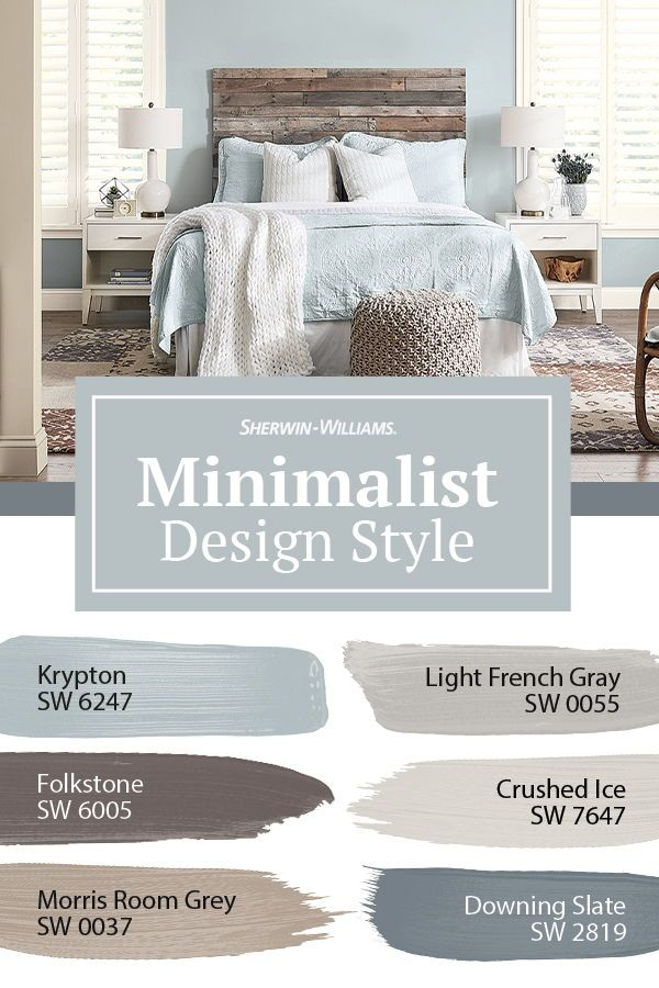 Minimalist Style Paint Colors In 2020 Paint Colors For Home Bedroom Colors Home