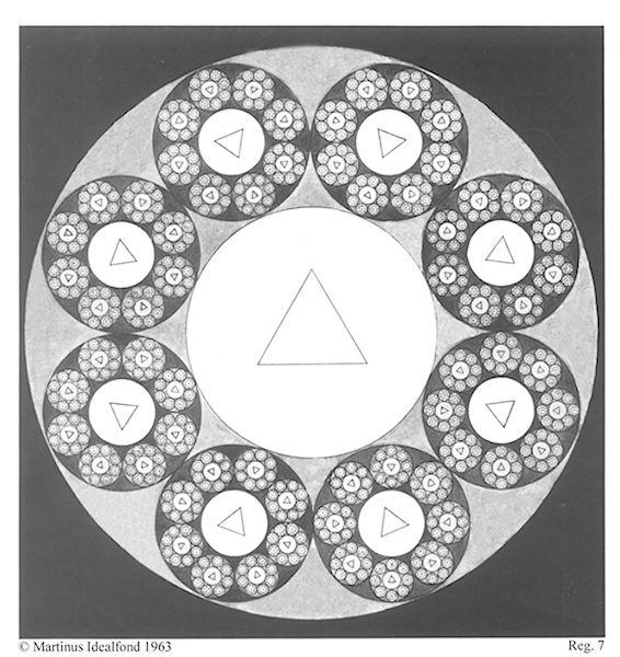 """Life within life"". Martinus Symbol No. 7 - 'The Principle of Life Units'. // http://www.martinus.dk/en/martinus-symbols/symbol-overview/symbol-7/"