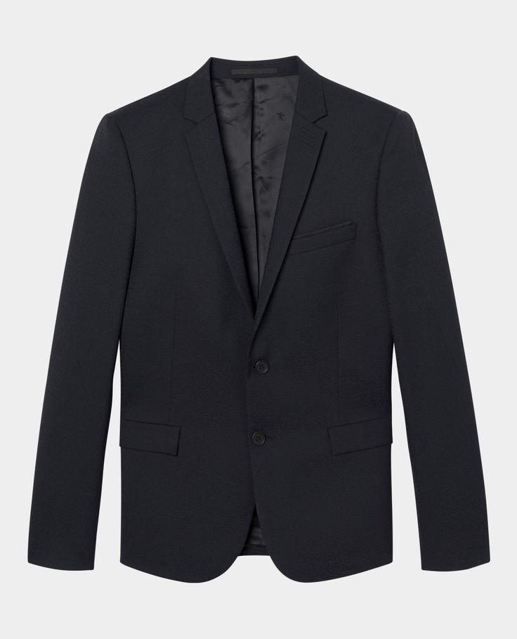 Veste de costume en jacquard léopard - Homme - Nouvelle Collection - The Kooples