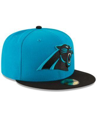 New Era Carolina Panthers Team Basic 59FIFTY Fitted Cap - Blue 7 3/4