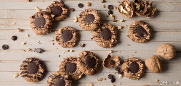 Walnootkoekjes met chocolade - MiCook