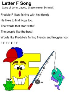 Letter F Song Lyrics